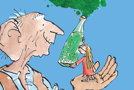 Literary Art Trails - The BFG 100th Anniversary is Celebrated with a Celebrity Dream Jar Project