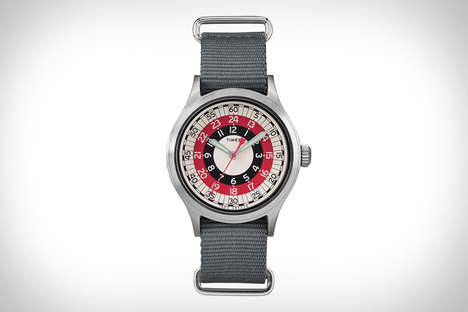 Dual-Reading Timepieces - The Timex X Todd Snyder Mod Watch Lets Wearers Read Time in 12 and 24-Hour