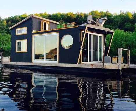 Floating Tiny Houses
