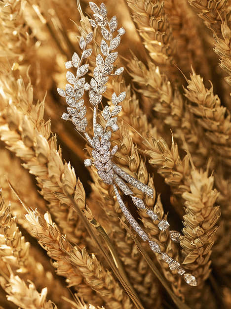 Wheat-Inspired Jewelry - This Chanel Jewelry Collection Takes Inspiration from a Simple Grain
