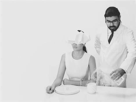 VR Dining Experiments - 'Project Nourished' Pairs 3D-Printed Food with Virtual Reality