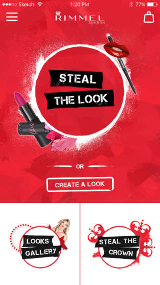 Makeup Emulator Apps - Rimmel London's 'Get the Look' Captures Makeup from Editorials and Photos