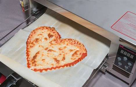 3D-Printed Pizzas - Beehex 3D Makes Uniquely Shaped Pizzas with Additive Manufacturing