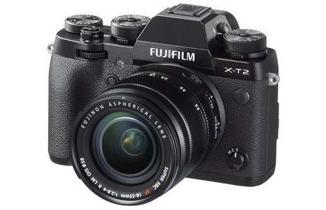 Mirrorless 4K Cameras - The Fujifilm X-T2 Camera Offers High-End Autofocus Performance