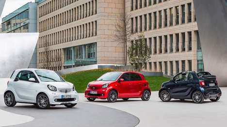 Revitalized Compact Cars - These Smart Cars Are Tuned Up For Surprisingly Fast Performance