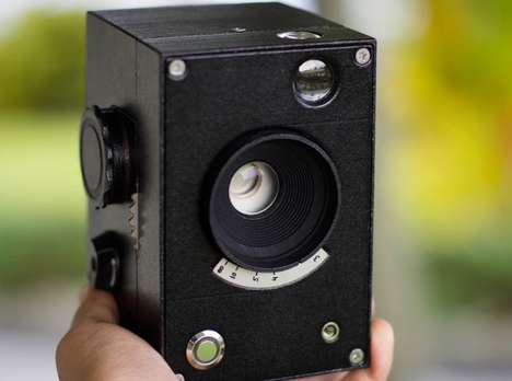 Luxe 3D-Printed Cameras - The Lux Camera Embraces Open-Source 3D-Printing Design
