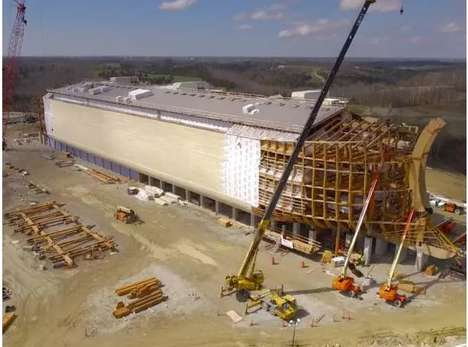 Genesis Ark Buildings - 'The Ark Encounter' is Inspired by the Noah's Ark Story