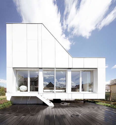 Shipping Container Residences - This Prefrabricated Home Was Designed With Limited Space