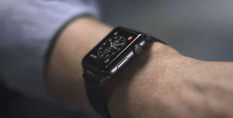 Truck Driver Smartwatches - The Scania Apple Watch Improves Truck Driving Safety