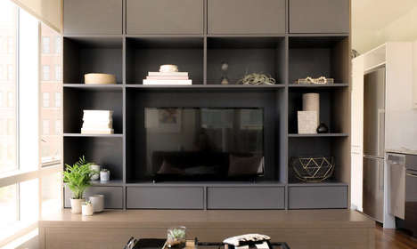 "Multi-Functional Condo Furniture - The 'CityHome' is Described as an ""Apartment in a Box"""