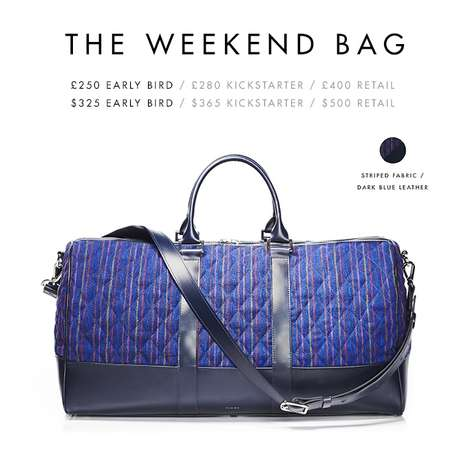 Recycled Travel Bags - These Luxury Bags Are Made From Recycled Airplane Seats