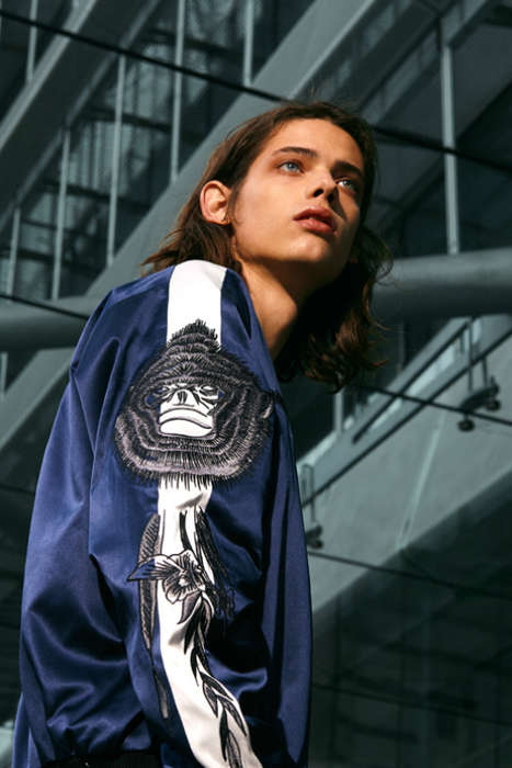 Zodiac-Inspired Menswear - This SAAM1 Collection Was Deigned with Elements of Chinese Zodiac Signs