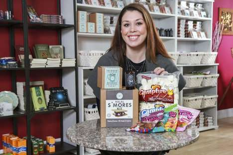 Halal Confectionery Stores - 'Blossom & Bean' Sells Halal Marshmallows and Gummy Candy