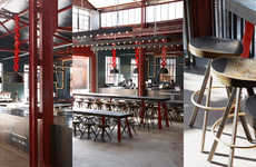 Industrial Brewery Interiors - Mad Giant's Design Was Based Off the Company's Free-Spirited Ethos