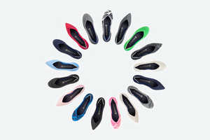 The Technicolor Rothy Flats are Constructed Using Recycled Water Bottles
