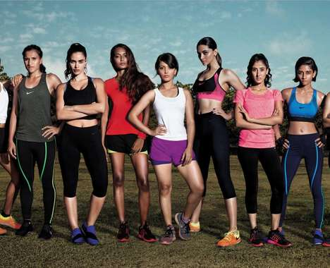 Athletic Female Empowerment Ads