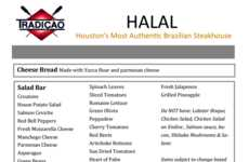 Muslim-Friendly Steakhouse Menus