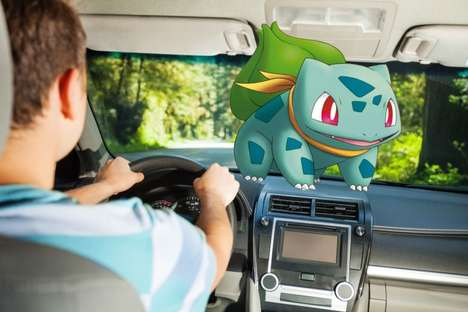 Anime Gaming Taxis - Pokemon GO Players Can Hitch a Ride to Catch Pokemon