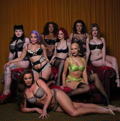 Diverse Lingerie Campaigns - Curvy Kate Proves That You Don't Need to Conform to Shallow Standards