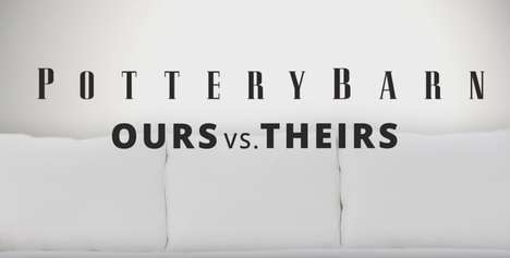 Comparative Sofa Ads - This Pottery Barn Commercial Dissects a Couch to Show Off Its Features