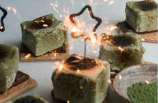 A Cozy Kitchen's Homemade S'mores are Made with Healthy Matcha Green Tea