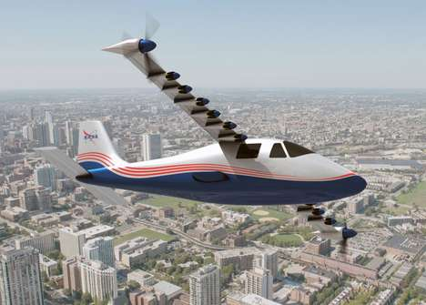 Quiet Electric Aeroplanes - NASA's X-57 Aircraft Reduces Carbon Emissions With Electric Propulsion