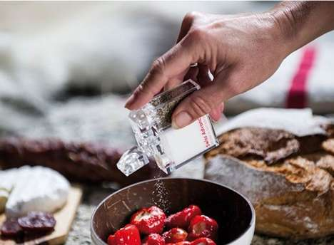 Alpine Condiment Shakers - The Swiss Advance Arcto Salt Shaker is Made for Wilderness Use