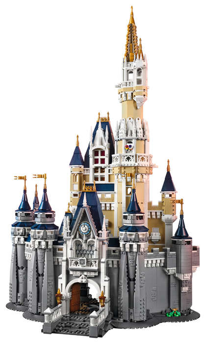 LEGO Fantasy Castles - LEGO 's Newest Release is a Cinderella Castle Replica