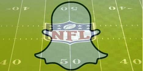 Sports Coverage Collaborations - The NFL is Creating a Snapchat Discover Channel