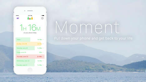 Usage-Reducing Phone Apps - 'Moment 3.0' Tracks Usage to Help Curtail Smartphone Addictions