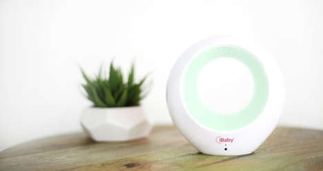 Smart Air Purifiers - iBaby Air is a Wifi-Connected Air Quality Monitor and Purifier