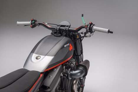 Racetrack-Carving Motorbikes - The Bottpower XR1R Flat Tracker Offers Exceptional Road Handling