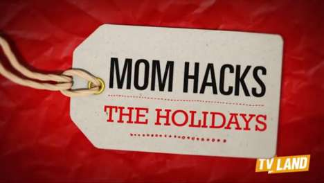 Parenting Hack Holiday Campaigns - This Hershey's Ad Gives Parents Creative DIY Ideas