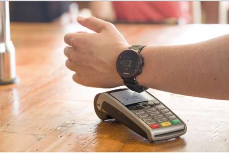 Smartwatch Converter Chips - 'bPay Loop' Transforms Any Watch into a Contactless Payment Tool