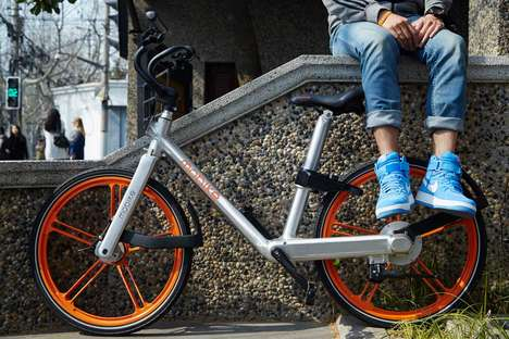 Chinese Ride-Sharing Bike Apps - 'Mobike' is the 'Uber' of Bicycles in Shanghai