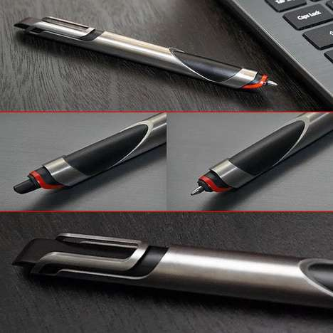 Minimalist Titanium Pens - The 'if...pen' is Designed with Simplicity in Mind