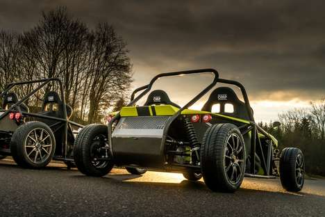 All-Electric Roadsters - Kyburz Debuted a Sporty Electric 'eRod' Roadster