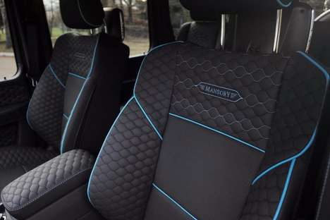 Carbon Fiber SUVs - These Mansory 4x4 SUVs Feature Reinforced Structural Components
