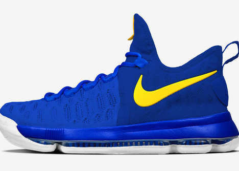 Refreshed Signature Shoes - The Kevin Durant Signature Shoe Celebrates the Player's New Team