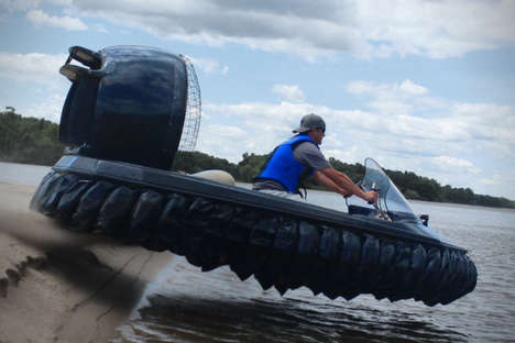 Ultrasonic Water Hovercrafts - The RENEGADE IQ Lets Riders to Glide Over Water For Faster Drive Time