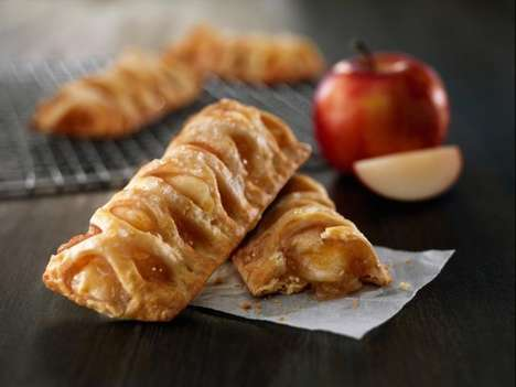 Baked Apple Turnovers - McDonald's New Baked Apple Pie is an Alternative to Its Fried Desserts