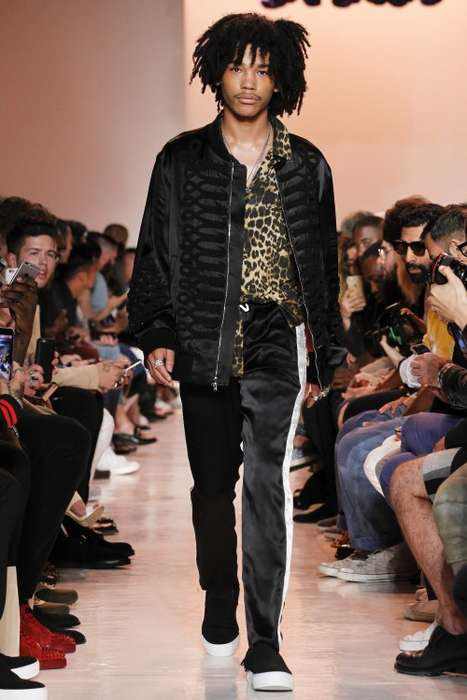 Hippie-Inspired Couture - This Ovadia & Sons Line Was Inspired by Reggae Music and Hippie Movements
