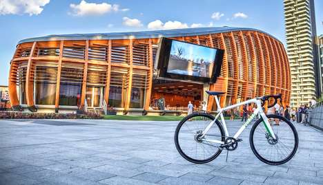 High-Tech Bike Displays - This Company Makes High-Functioning Bikes for Eco-Friendly Transport