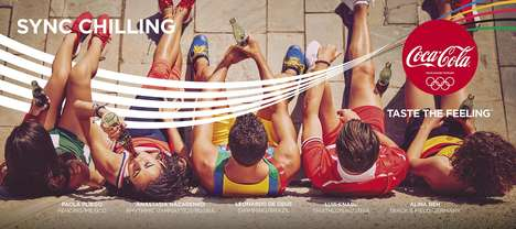 Nostalgic Olympic Gold Ads - Coca-Cola's Ad Blends Gold Moments for #ThatsGold Campaign