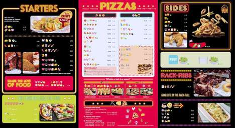 "Emoji Food Menus - Pizza Hut UK Celebrates 'World Emoji Day' with by Getting an ""Emojified"" Menu"