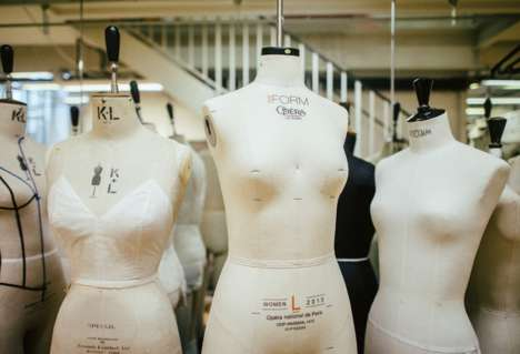 3D-Scanned Mannequins - These Customized Mannequins Help Costume-Makers Cut Down on Fittings