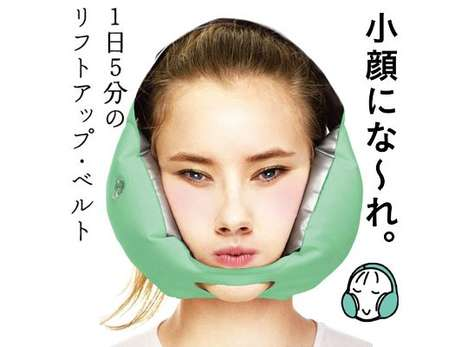 Lifting Face Belts - The 'La Vie Kogao' Inflatable Mask Naturally Raises the Contours of the Face
