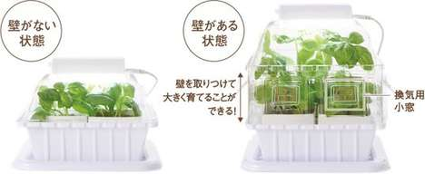 Hydroponic Superfood Planters - The Gakken LED Grow Box Utilizes Greenhouse Growing for Indoor Use