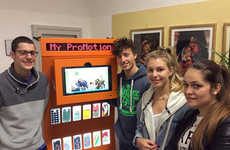 Trash-Converting Vending Machines - MyProGeneration Upcycles Waste Into Recycled Smartphone Cases