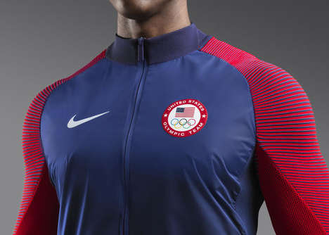 Ceremonial Athletic Jackets - These Nike Team Jackets Are Designed For Medal-Receiving Olympians